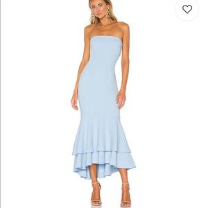 Lovers and friends Dillion midi in baby blue